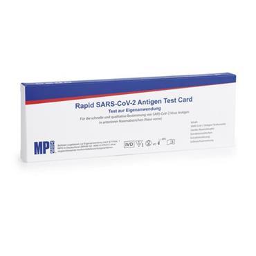 MP BIOMEDICALS RAPID SARS COV-2 ANTIGEN TEST CARD  1PACK