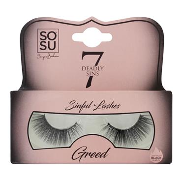 SOSU SINFULL LASHES GREED