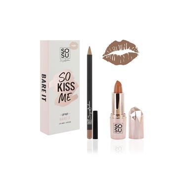 SO KISS ME - LIP KIT BARE IT