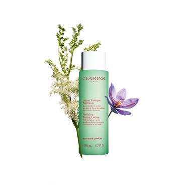 CLARINS PURIFYING TONING LOTION 200ML COMBINATION TO OILY SKIN