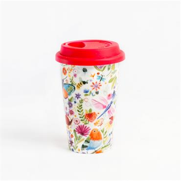 THE SWAN GARDEN RANGE TRAVEL MUG