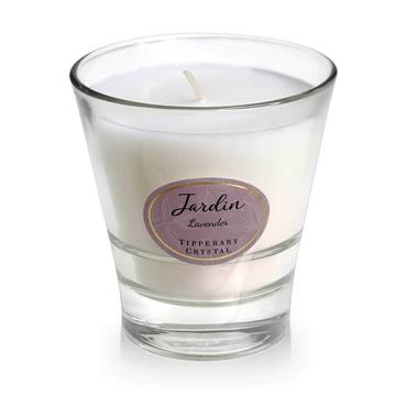 JARDIN BY TIPPERARY CRYSTAL CANDLE LAVENDER