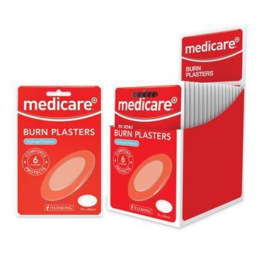 MEDICARE BURN PLASTERS