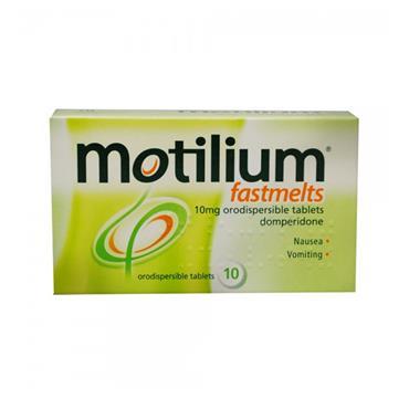 MOTILIUM FASTMELTS 10MG TABS
