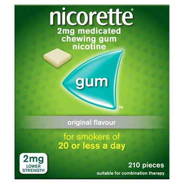 NICORETTE 2MG PLAIN 210