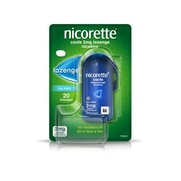 NICORETTE COOLS 2MG 20