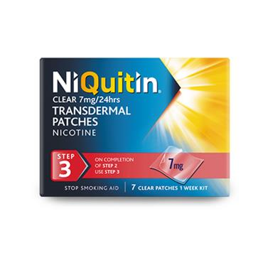 NIQUITIN STEP 3 7 PATCHES
