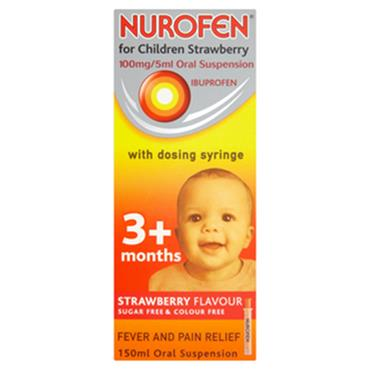 NUROFEN 3+ STRAWBERRY 200ML