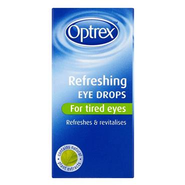 OPTREX REFRESHING FOR TIRED EYE DROPS 10ML