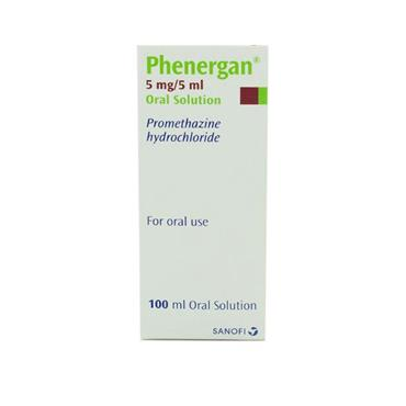PHENERGAN ORAL SOLUTION 100ML