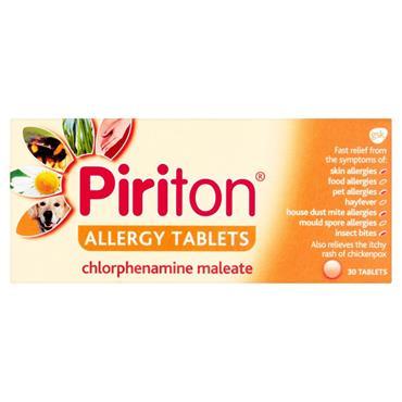 PIRITON TABLETS 30PK