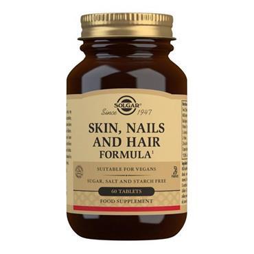 SOLGAR SKIN NAILS AND HAIR FORMULA TABS 60