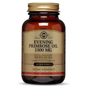 SOLGAR EVENING PRIMROSE OIL 1300MG SOFTGELS 30 E1056