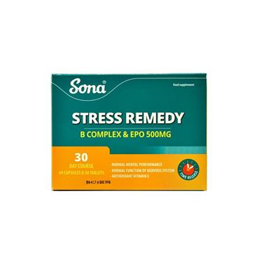 SONA STRESS REMEDY 1 MONTH SUPPLY 30 CAPS