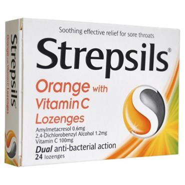 STREPSILS WITH VITAMIN C 24