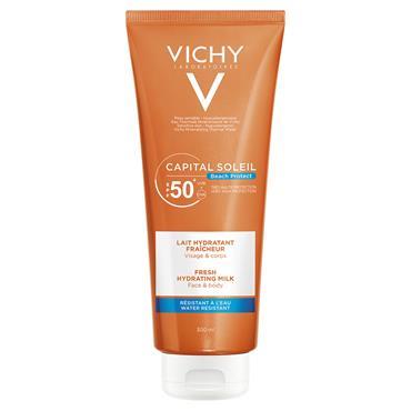 VICHY CAP SOL F50 PLUS BODY MILK 300ML