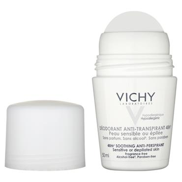 VICHY DEO 48HR SENSITIVE AP ROLL ON 50ML