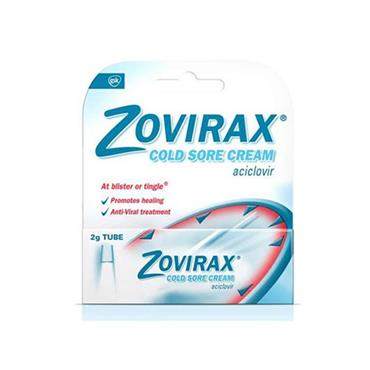 ZOVIRAX CREAM TUBE EASY RUB IN 2G