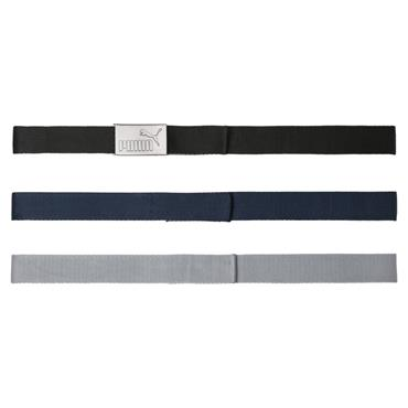 Puma Gents 3 in 1 Web Belt Pack  White Black Peacoat