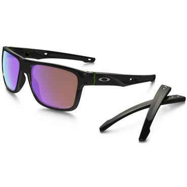 Oakley Crossrange PRIZM Glasses Polished Black Polarized