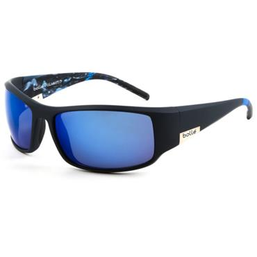 Bolle King Polarized Offshore Blue Sunglasses  Matte Blue