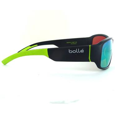 Bolle Heron HD Polarized Sunglasses  Grey Yellow