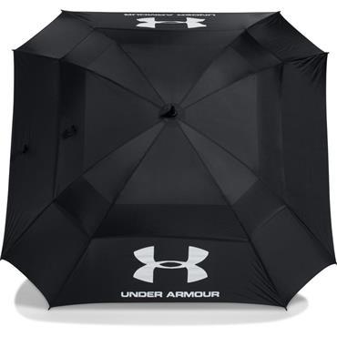 Under Armour Double Canopy Umbrella  Black/Hi Vis