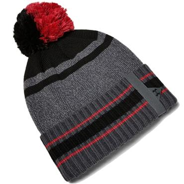 Under Armour Gents Pom Beanie  Grey 012