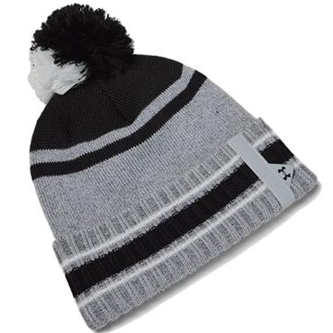 Under Armour Gents Pom Beanie  Grey 014