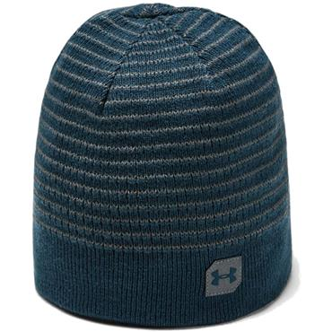 Under Armour Gents Reversible Beanie  Green 431
