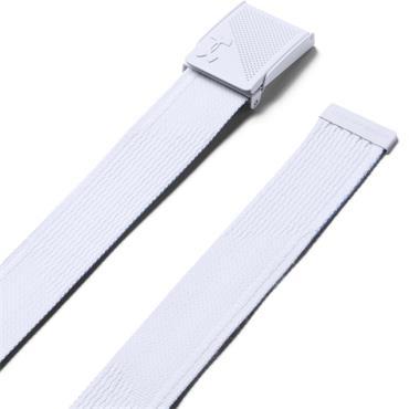 Under Armour Gents Novelty Webbing Belt  White 100