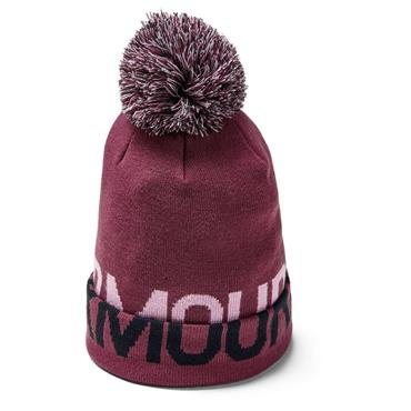 Under Armour Graphic Pom Beanie  Purple 569