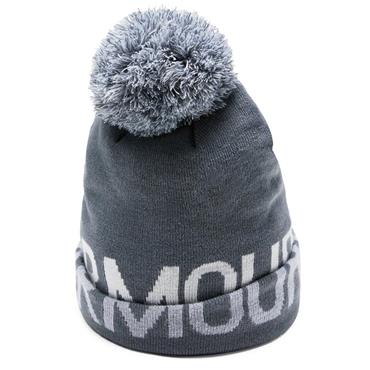 Under Armour Graphic Pom Beanie  grey 044
