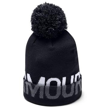 Under Armour Graphic Pom Beanie  Black 001