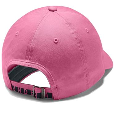 Under Armour Ladies Cotton Golf Cap  Lipstick 691