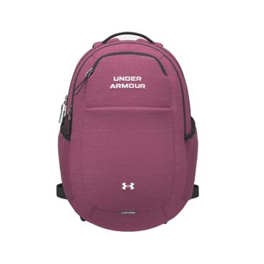 Under Armour Ladies Hustle Signature Backpack  Pink 678