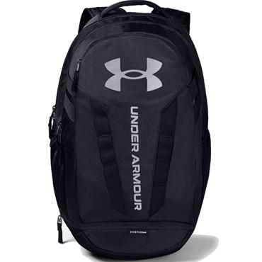 Under Armour Hustle 5.0 Backpack  Black 001