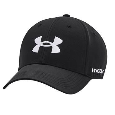 Under Armour Gents Golf 96 Hat . Black 001