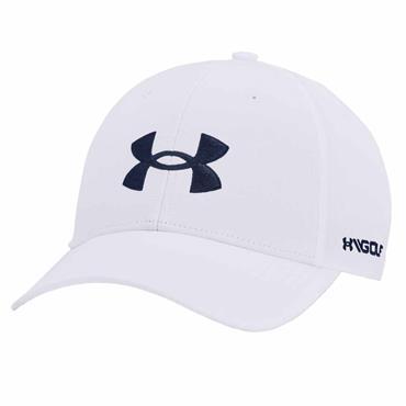 Under Armour Gents Golf 96 Hat . White 100