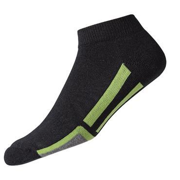 FootJoy Gents ProDry Sport Socks  Black/Green