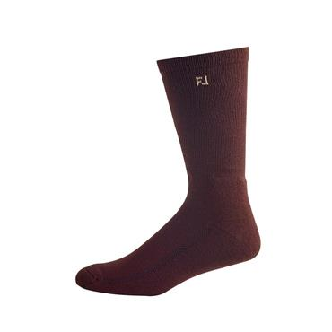 FootJoy Prodry Crew Fashion Socks  Brown