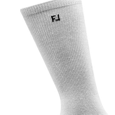 FootJoy Ladies Prodry Lightweight Crew Socks  White