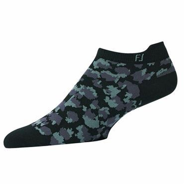 FootJoy Ladies Spot Print Socks  Navy