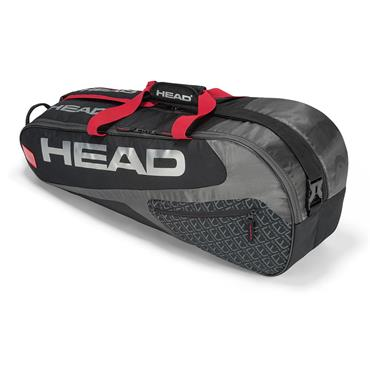 Head Head Elite 6R Combi Tennis Bag  Black/Red