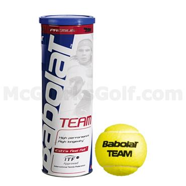 Babolat 501041 Bab Team [3] Tennis Bal  Yellow