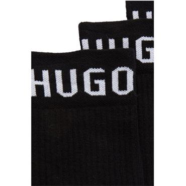 Hugo Boss Gents Sport Socks 2 Pack 43/46 Black 001