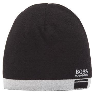 Hugo Boss Gents Albo Beanie  Black 001