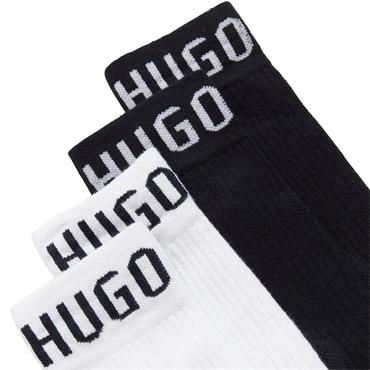 BOSS Gents Sports Socks 2 pack 43-46 Blue 402