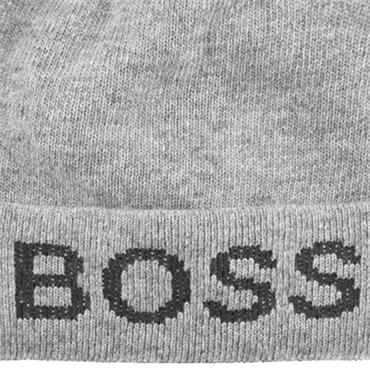 BOSS Gents Nove Beanie  Grey 041