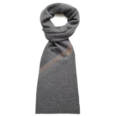BOSS Gents Axello Scarf  Medium Grey 031